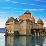 Chillon castle in Montreux