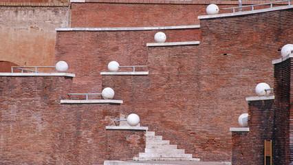 Bricky Wall 1. Rome, Italy