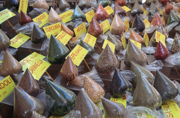 Spices. Rome, Italy