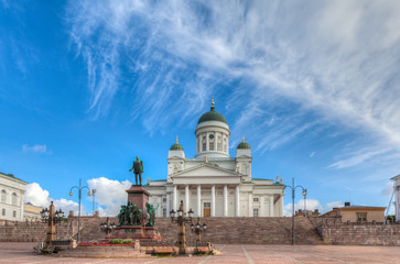 St  Nicholas Church in Helsinki, Finland