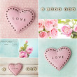 valentines day collage hearts