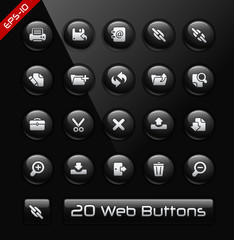 Icons for Software Developers -- Black Label Series