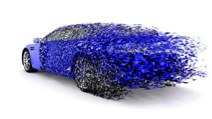 Auto Konzept Geschwindigkeit