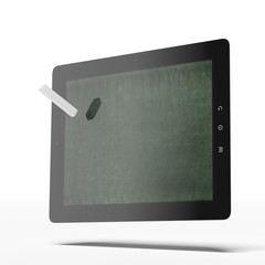 Tablet as blackboard