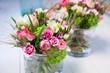 Leinwandbild Motiv spring flower decoration