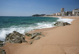 LLoret de Mar beach.Catalonia.Spain