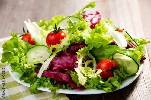 Tuinposter Groenten Salad