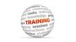 3D training word Sphere