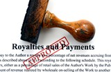 Royalties and payments poster