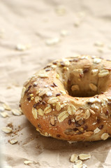 Multigrain bagel