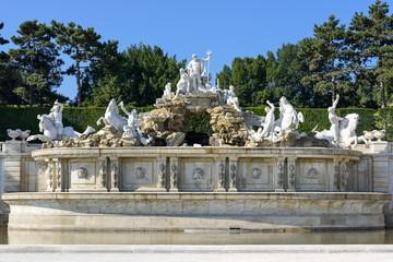 Neptunbrunnen im Schlosspark Schönbrunn, Wien