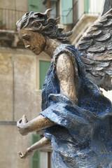 Verona Angel sculpture - Europe Italy