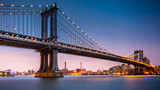 Manhattan Bridge at dusk - 60006782