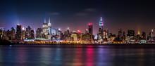 Manhattan Panorama während der Pride-Wochenende