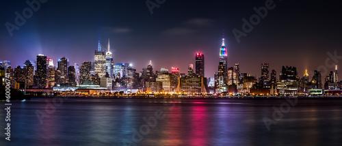 Manhattan Panorama during the Pride Weekend