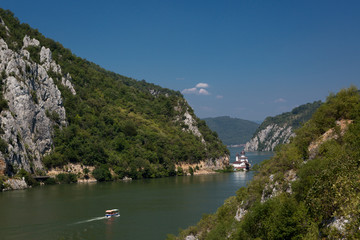 Danube Gorges at the Serbian-Romanian border