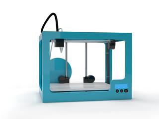 Empty 3d printer