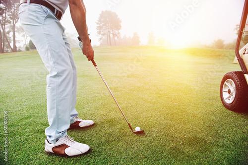 Papiers peints Golf golfer on course