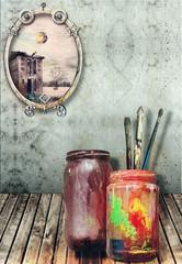 Painting workshop series