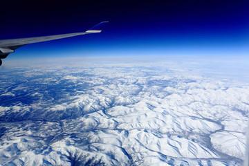 bird's eye view of the Kamchatka