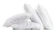 Leinwanddruck Bild - pillows isolated on white