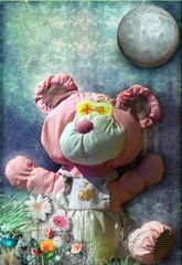 Teddy bear in the room