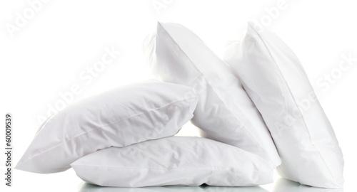 Leinwanddruck Bild pillows isolated on white