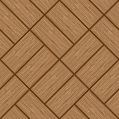 Wooden floor pattern - illustration. Vector