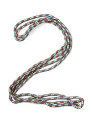 Number two of cotton rope