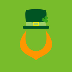 Saint Patrick´s Day Abstract Leprechaun