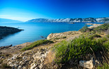The Croatian coast