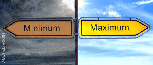 Strassenschild 2 - Maximum