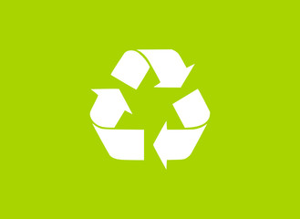 Recycling Hintergrund grün