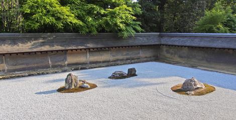 Japanischer Zen Garten (Kare-san-sui)