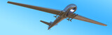 Unmanned Aerial Vehicle drone in flight poster