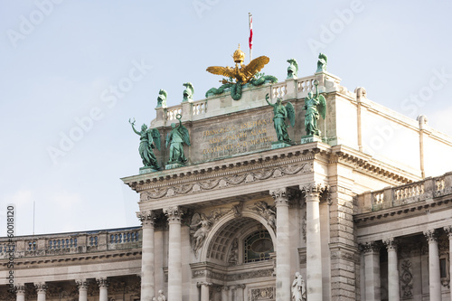 New Hofburg Imperial Palace, Vienna, Austria