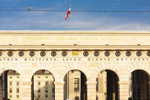 Burgtor at Heldenplatz, Vienna, Austria