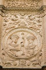 Medallón de los Reyes Católicos Universidad Salamanca