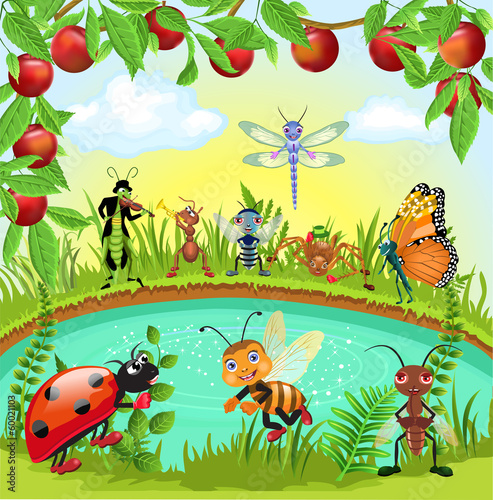 happy bugs world