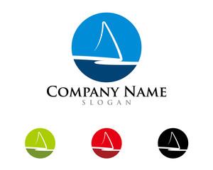Abstract sail logo 1