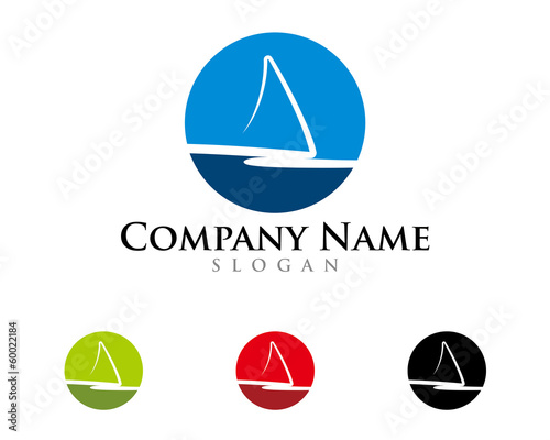 Abstract sail logo 1