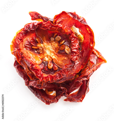 Italian sun dried tomatoes cut into circles