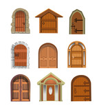 Fototapety doors collection