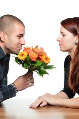 Blumen zur Verzeihung