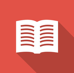Book - Flat icons for web and mobile apps