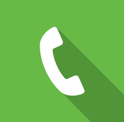Call - Flat icon for web and mobile apps
