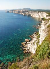 The coastal part of Corsica - Bonifacio