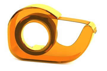 realistic 3d render of cellotape