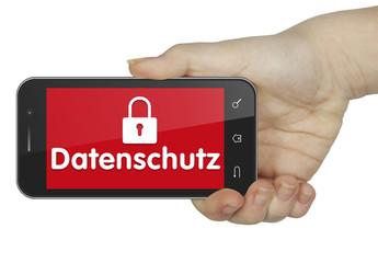 Datenschutz.