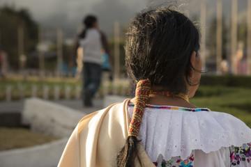 costume indigeno sudamericano